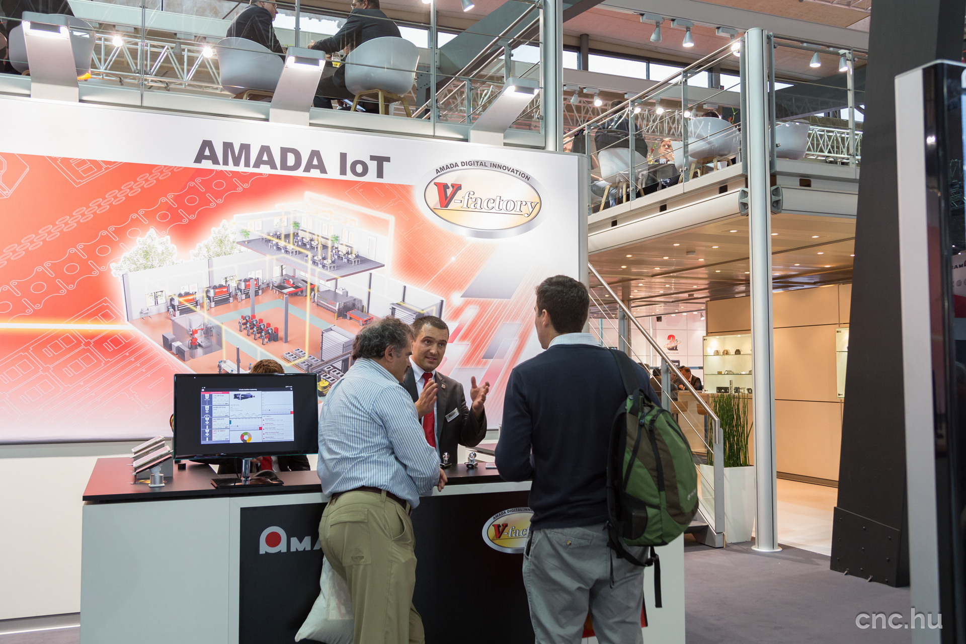 AMADA EuroBLECH 2016 - V-Factory IoT Ipar 4.0